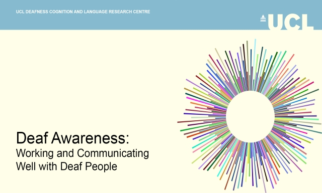 Deaf Awareness - A Short Course from DCAL
