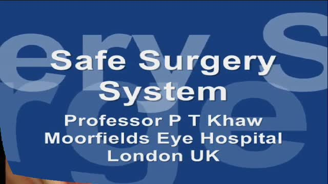 Moorfields' Safer Surgery System
