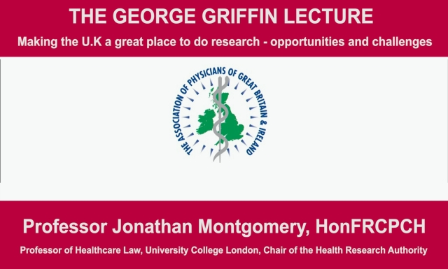 The George Griffin Lecture