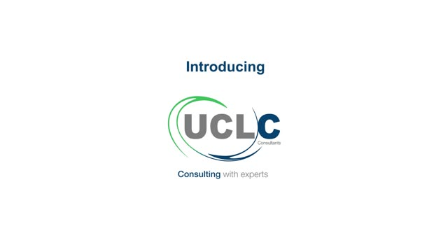 Introduction to UCL Consultants