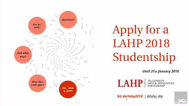 LAHP Q&A Session for 2018/19 Entry
