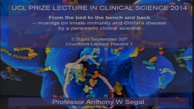 Clinical Prize Lecture Sept 30th  2014
