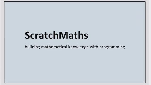 Scratch Maths