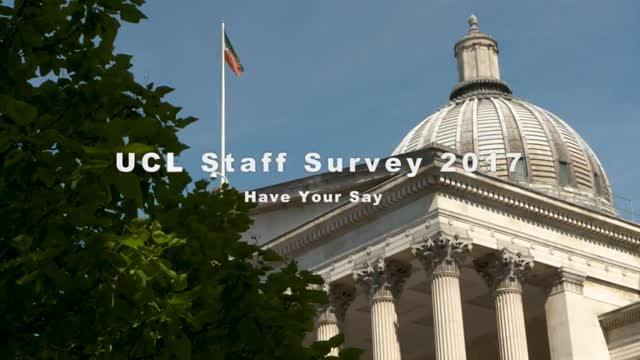 UCL Staff Survey 2017
