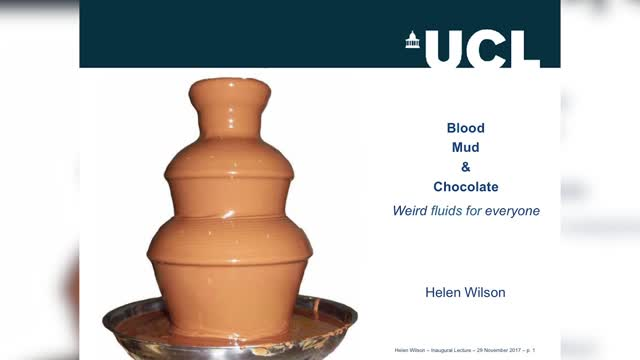 Helen Wilson Inaugural Lecture