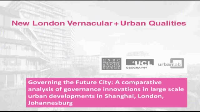 London Vernacular Session 2
