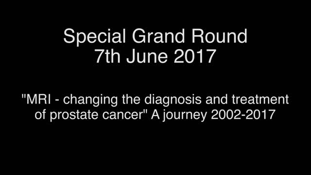 Special Grand Round 7th June 2017