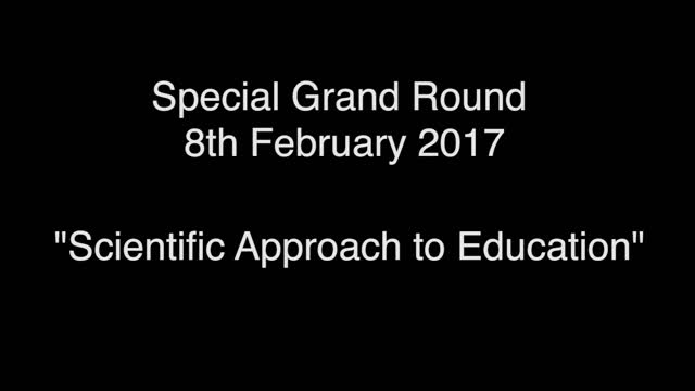 Special Grand Rounds 8th Feb 2017