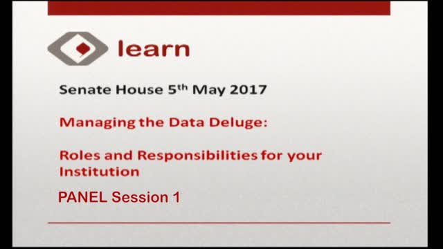 Panel Session1 LEARN 2017